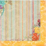 Bo Bunny - Ambrosia Collection - 12 x 12 Double Sided Paper - Stripe