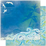 Bo Bunny Press - Barefoot and Bliss Collection - 12 x 12 Double Sided Paper - Barefoot and Bliss