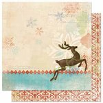Bo Bunny - Blitzen Collection - Christmas - 12 x 12 Double Sided Paper - Blitzen