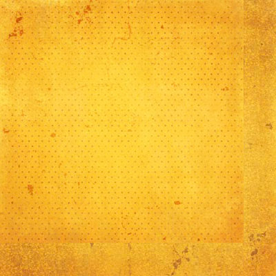 BoBunny - Double Dot Designs Collection - 12 x 12 Double Sided Paper - Vintage - Buttercup