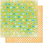 Bo Bunny Press - Barefoot and Bliss Collection - 12 x 12 Double Sided Paper - Dot