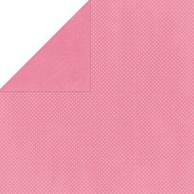 Bo Bunny Press - Double Dot Paper - 12 x 12 Double Sided Paper - Blush Dot