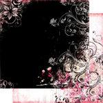 Bo Bunny Press - Beau Jardin Collection - 12 x 12 Double Sided Paper - Beau Jardin Blush