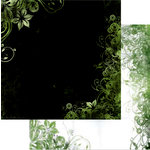 Bo Bunny Press - Beau Jardin Collection - 12 x 12 Double Sided Paper - Beau Jardin Clover