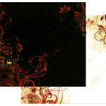 Bo Bunny Press - Beau Jardin Collection - 12 x 12 Double Sided Paper - Beau Jardin Harvest
