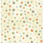 Bo Bunny Press - Beachy Keen Collection - 12x12 Paper - Beachy Keen Lei- Beach - Summer