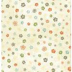 Bo Bunny Press - Beachy Keen Collection - 12x12 Paper - Beachy Keen Lei- Beach - Summer