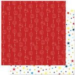 Bo Bunny Press - Blast Off Collection - 12 x 12 Double Sided Paper - Stellar
