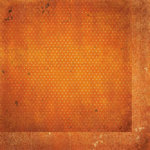 BoBunny - Double Dot Designs Collection - 12 x 12 Double Sided Paper - Vintage - Burnt Orange