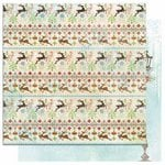 Bo Bunny - Blitzen Collection - Christmas - 12 x 12 Double Sided Paper - Reindeer Games