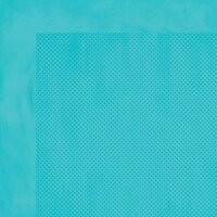 BoBunny - Double Dot Designs - 12 x 12 Double Sided Paper - Caribbean Dot