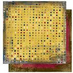 Bo Bunny Press - Cambridge Collection - 12 x 12 Double Sided Paper - Cambridge Dot