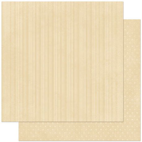 BoBunny - Double Dot Designs Collection - 12 x 12 Double Sided Paper - Stripe - Chiffon