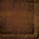BoBunny - Double Dot Designs Collection - 12 x 12 Double Sided Paper - Vintage - Chocolate