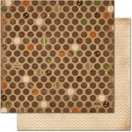 Bo Bunny - Camp-A-Lot Collection - 12 x 12 Double Sided Paper - Dot