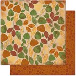 Bo Bunny - Camp-A-Lot Collection - 12 x 12 Double Sided Paper - Leaves