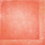 BoBunny - Double Dot Designs Collection - 12 x 12 Double Sided Paper - Vintage - Coral