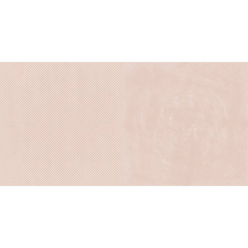 BoBunny - Double Dot Designs Collection - 12 x 12 Double Sided Paper - Dusty Rose