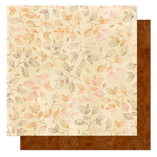 Bo Bunny Press - Delilah Collection - 12 x 12 Double Sided Paper - Delilah Pretty, CLEARANCE