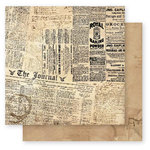 Bo Bunny Press - Et Cetera Collection - 12 x 12 Double Sided Paper - Extra
