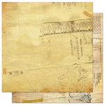 Bo Bunny Press - Et Cetera Collection - 12 x 12 Double Sided Paper - Index