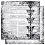 Bo Bunny Press - Enchanted Collection - 12 x 12 Double Sided Paper - Rose