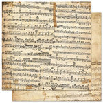 Bo Bunny - Et Cetera Collection - 12 x 12 Double Sided Paper - Symphony