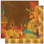 Bo Bunny Press - Forever Fall Collection - 12 x 12 Double Sided Paper - Forever Fall