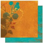 Bo Bunny Press - Forever Fall Collection - 12 x 12 Double Sided Paper - Bouquet