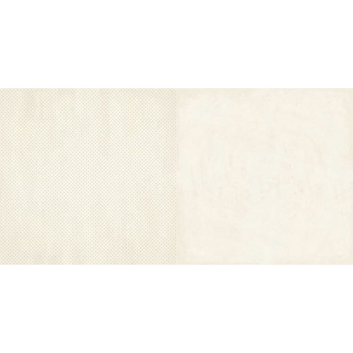 BoBunny - Double Dot Designs Collection - 12 x 12 Double Sided Paper - French Vanilla