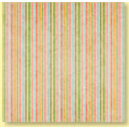 Bo Bunny Press - Patterned Paper - Garden Chic Stripe