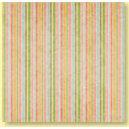 Bo Bunny Press - Patterned Paper - Garden Chic Stripe