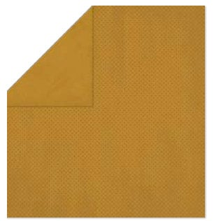 Bo Bunny Press - Double Dot Paper - 12 x 12 Double Sided Paper - Gingerbread Dot