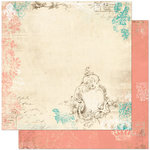 Bo Bunny - Gabrielle Collection - 12 x 12 Double Sided Paper - Fairest