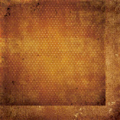 BoBunny - Double Dot Designs Collection - 12 x 12 Double Sided Paper - Vintage - Gingerbread