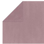 Bo Bunny Press - Double Dot Paper - 12 x 12 Double Sided Paper - Heather Dot, CLEARANCE