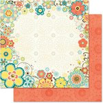 Bo Bunny - Hello Sunshine Collection - 12 x 12 Double Sided Paper - Hello Sunshine
