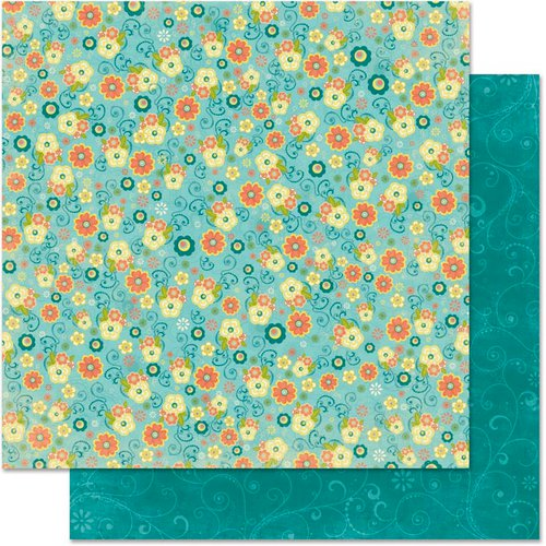 Bo Bunny - Hello Sunshine Collection - 12 x 12 Double Sided Paper - Little Things