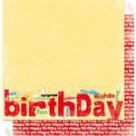 Bo Bunny Press - It's My Party Collection - 12 x 12 Double Sided Paper - It's My Party Surprise