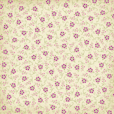 Bo Bunny Press - Jazmyne Collection - 12 x 12 Glittered Paper - Jazmyne Botanical, CLEARANCE