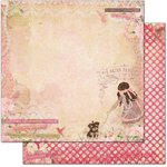 Bo Bunny - Little Miss Collection - 12 x 12 Double Sided Paper - Little Miss