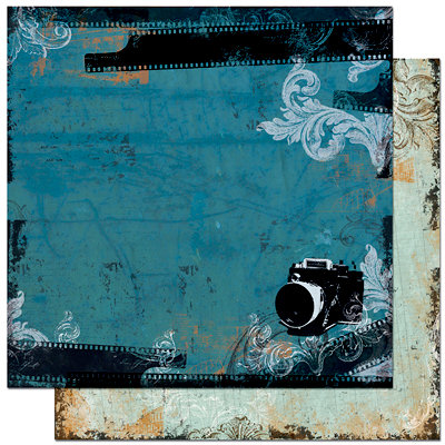 Bo Bunny - Mama-razzi Collection - 12 x 12 Double Sided Paper - Mama-razzi
