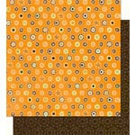 Bo Bunny Press - Mango Luau Collection - 12 x 12 Double Sided Paper - Mango Luau Dot