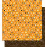 Bo Bunny Press - Mango Luau Collection - 12 x 12 Double Sided Paper - Mango Luau Dot