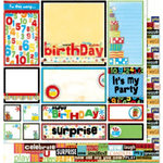 Bo Bunny Press - It's My Party Collection - 12 x 12 Double Sided Paper - It's My Party Cut-Outs