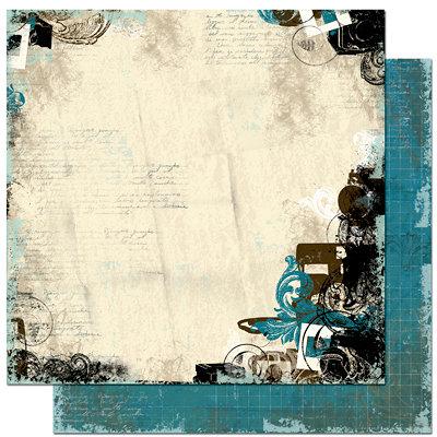 Bo Bunny - Mama-razzi Collection - 12 x 12 Double Sided Paper - Mama-razzi Shutter