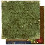 Bo Bunny Press - Noel Collection - Christmas - 12 x 12 Double Sided Paper - Noel Joy