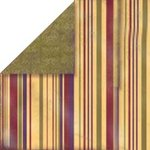 Bo Bunny Press - Bella Journee - Double Sided Paper - Napa Valley Collection - Napa Valley Stripe