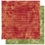 Bo Bunny Press - Noel Collection - Christmas - 12 x 12 Double Sided Paper - Noel Traditions