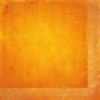 BoBunny - Double Dot Designs Collection - 12 x 12 Double Sided Paper - Vintage - Orange Citrus